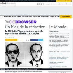 Le FBI jette l'éponge 44 ans après la mystérieuse affaire D.B. Cooper