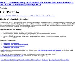 EDI PLC Awarding Body
