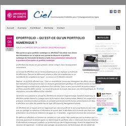 ePortfolio – Qu'est-ce qu'un portfolio numérique ?