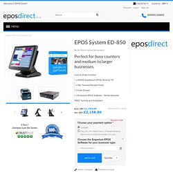 Touch Screen Epos System For All Industry in UK