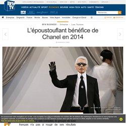 L'époustouflant bénéfice de Chanel en 2014