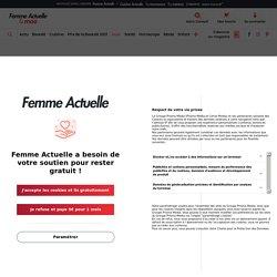 Marina Foïs époustouflante et sexy dans une robe fendue au décolleté vertigineux (ohlala !) : Femme Actuelle Le MAG