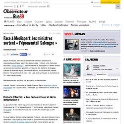"""Face à Mediapart, les ministres sortent """"l'épouvantail Salengro"""""""