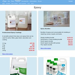 Epoxy - Fyne Boat Kits