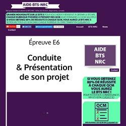 Épreuve E6 - aide-bts-nrc.overblog.com