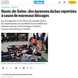 Hauts-de-Seine : des épreuves du bac reportées à cause de nouveaux blocages