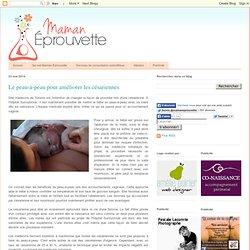 Le peau-à-peau pour améliorer les césariennes
