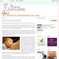 Le mystère de la langue des bébés