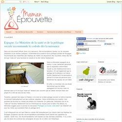 Espagne: Le Ministère de la santé et de la politique sociale recommande le cododo dès la naissance