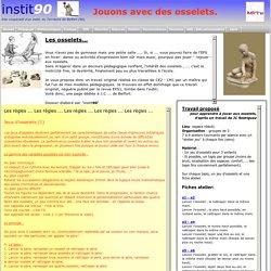 EPS - Les jeux d'osselets...