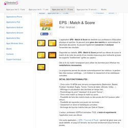 CP4 - EPS match et score