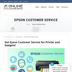 Epson Customer Service Phone Number