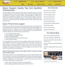 Epson Printer Toll free Phone Number - 1-888-738-4333