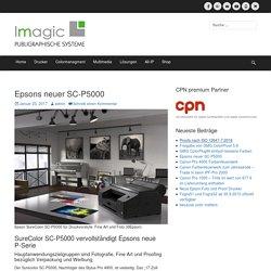 Epsons neuer SC-P5000 – imagic.pro
