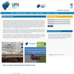 UPR Watch | Universal Periodic Review