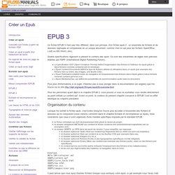 Epub-3 / Créer un Epub