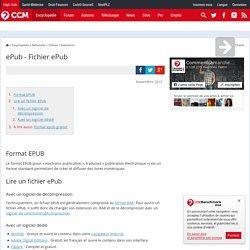ePub - Fichier ePub