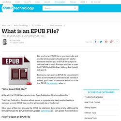 EPUB File (What It Is & How To Open One)