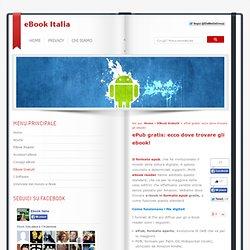 Dove trovare ebook epub gratis