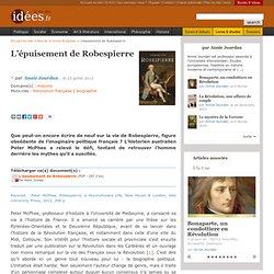 L'épuisement de Robespierre