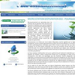 Micro station d'épuration bio, les avantages - Bio Assainissement