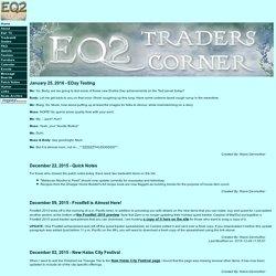 EQ2 Traders Corner