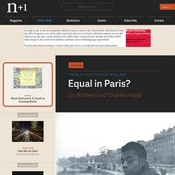 Equal in Paris?