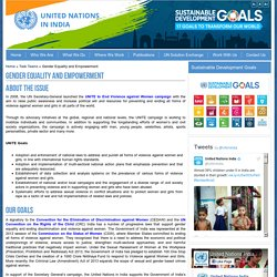 Gender Equality and Empowerment » United Nations in India