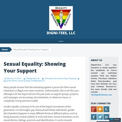 Sexual Equality: Showing Your Support