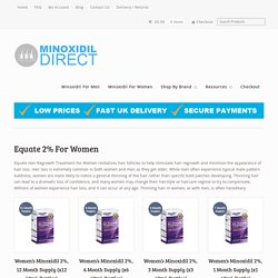 Online Shop for Minoxidil Women - Minoxidil-Direct.Com
