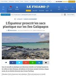 L'Équateur proscrit les sacs plastique sur les îles Galápagos