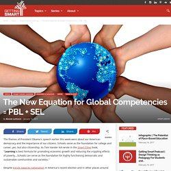 The New Equation for Global Competencies = PBL + SEL