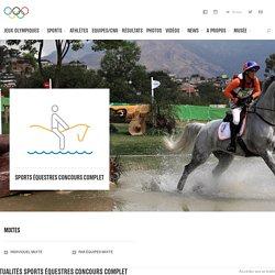 Sports équestres / Concours complet - sport olympique d'été