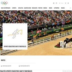Sports équestres / Saut d'obstacles - sport olympique d'été