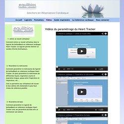 Vidéos du Heart Tracker - Equilibios - logiciels de cohérence cardiaque - formations