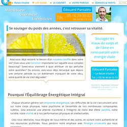 Équilibrage Énergétique Intégral avec le Magnétiseur Énergéticien