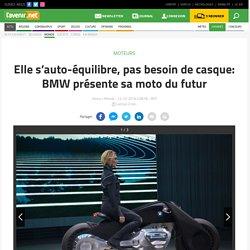Moto électrique auto-équilibrée
