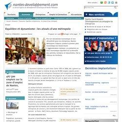 Equilibre et dynamisme : les atouts d'une métropole