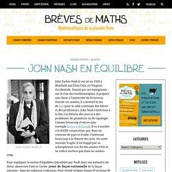 Équilibre de Nash, inventeur du jeu de Hex : Brèves de maths, 2013