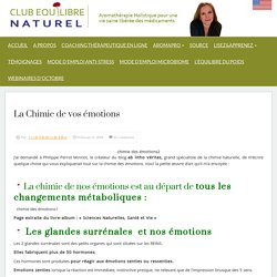 Club Equilibre Naturel » La Chimie de vos émotions