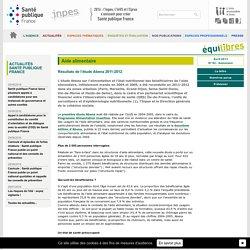 INPES - 2013 - Présentation : Aide alimentaire Où en est-on en 2013 ? Principaux résultats d'Abena 2