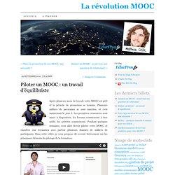 Piloter un MOOC : un travail d'équilibriste