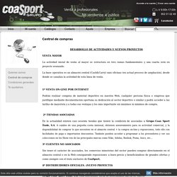 Equipamiento deportivo, Grupo Coas Sport