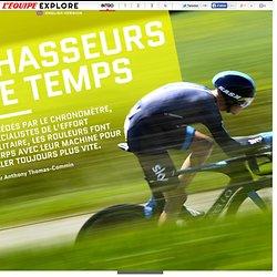 Chasseurs de temps (rouleur, vélo)
