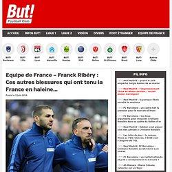 Equipe de France : Avant Ribéry, les blessures de Zizou et de Vieira