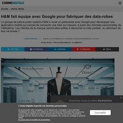 H&M fait équipe avec Google pour fabriquer des data-robes