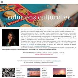 équipe - solutions culturelles