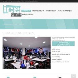 Concept store Bauer à Nice - équipement Hockey et patinage artistique -Ice Shop Nice