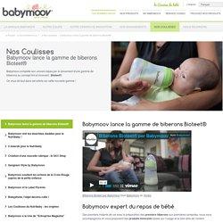lance la gamme de biberons Bioteet® - Babymoov : produits et équipement puériculture bébé