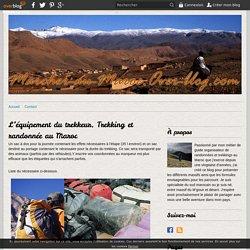 L'équipement du trekkeur. Trekking et randonnée au Maroc -
